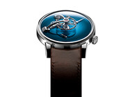 LM101 MB&F X H.MOSER BLUE FACE