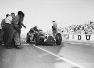 SUCH IS LIFE IN RACING REIMS 1951
